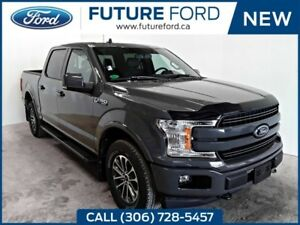 2018 Ford F-150 Lariat|SPORT PACKAGE|TWIN PANEL MOONROOF|FX4 OFF