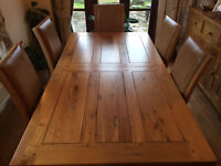 Wentworth Extending Dining Table – 6ft