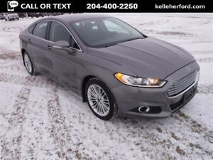 2013 Ford Fusion SE AWD with Tech Pkg