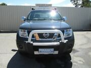 2010 Nissan Navara D40 ST-X (4x4) Midnight Black 5 Speed Automatic Dual Cab Pick-up Windsor Gardens Port Adelaide Area Preview