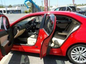 2013 Volkswagen Jetta 1KM MY13.5 147 TSI Highline Tornado Red 6 Speed Direct Shift Sedan