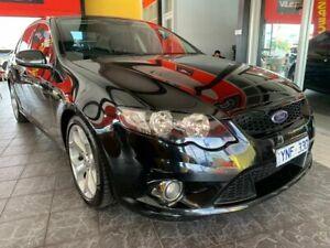 2011 Ford Falcon FG XR6 Turbo Black 6 Speed Sports Automatic Sedan