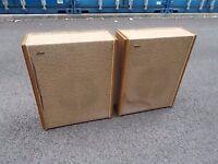 vintage wharfedale slimline speakers