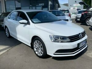 2017 Volkswagen Jetta 1B MY17 118TSI DSG Comfortline White 7 Speed Sports Automatic Dual Clutch North Hobart Hobart City Preview