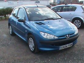 PEUGEOT 206S 1.4 AUTOMATIC 5 DR BLUE,MOT30/7/19,CLICK ON VIDEO LINK TO SEE AND HEAR MORE DETAILS