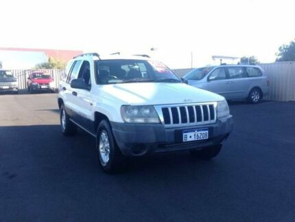 2003 Jeep Grand Cherokee White Automatic Wagon