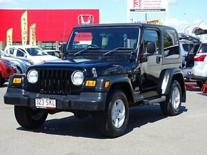 2005 Jeep Wrangler TJ MY2005 Sport Black 4 Speed Automatic Softtop Garbutt Townsville City Preview
