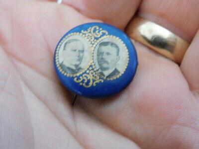 1900 MCKINLEY ROOSEVELT PRESIDENTIAL CAMPAIGN PINBACK BUTTON
