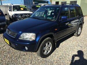 2000 Honda CR-V (4x4) Sport Blue 4 Speed Automatic 4x4 Wagon Jewells Lake Macquarie Area Preview