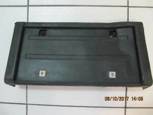 Astro/Safari/S10/Jimmy/Blazer Front Licence Plate Holder1980-90s