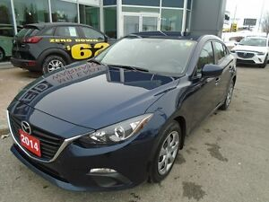 2014 Mazda Mazda3 **A/C, PUSH-BUTTON START & BLUETOOTH** GX