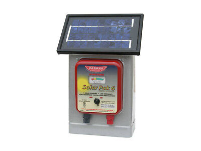 Parmak Df-sp-li Solar-powered Electric Fence Charger 6 Volt Gel Battery