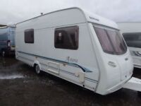 Lunar AStara 17ft 4 berth end washroom,motor mover, side dinnette,VGC