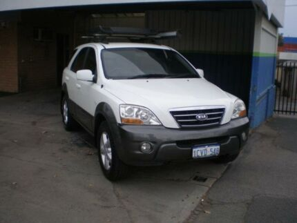 2008 Kia Sorento BL EX White 5 Speed Tiptronic Wagon Victoria Park Victoria Park Area Preview