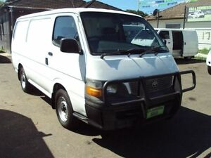 2000 Toyota Hiace RZH103R White 5 Speed Manual Van Punchbowl Canterbury Area Preview