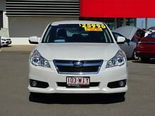 2012 Subaru Liberty B5 MY13 2.5i Lineartronic AWD White 6 Speed Constant Variable Sedan Garbutt Townsville City Preview
