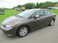 2012 Honda Civic LX: AUTOMATIC! A/C! CRUISE! CLEAN! WARRANTY!