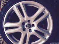 "Jaguar aruba alloy 18"" with tyre 225/40R/18"