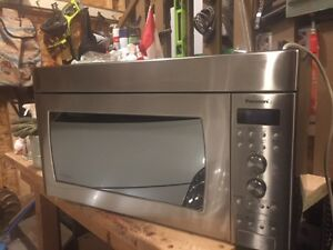 Stainless Steel Panasonic Over-the-Range Microwave