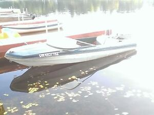 14ft runabout with 2 running 55hp