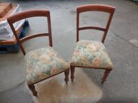Vintage chairs Pair of chairs