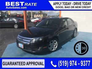 FORD FUSION - APPROVED IN 30 MINUTES! - REBUILD YOUR CREDIT