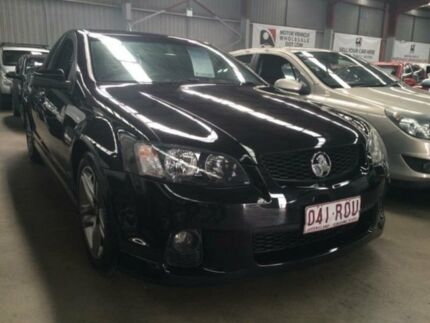 2011 Holden Commodore VE II SV6 Black 6 Speed Manual Utility Macquarie Hills Lake Macquarie Area Preview