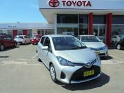 2014 Toyota Yaris NCP130R MY15 Ascent Silver Pearl 4 Speed Automatic Hatchback South Hurstville Kogarah Area Preview