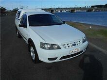 2006 Ford Falcon BF Mk II RTV Ute Super Cab White 4 Speed Automatic Utility Hamilton East Newcastle Area Preview