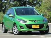 2012 Mazda 2 DE10Y2 MY12 Neo Green 5 Speed Manual Hatchback Blair Athol Port Adelaide Area Preview
