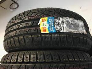 $450(TAX-IN)–NEW 205/50/R17 Pirelli SottoZero II RUNFLAT snows–3 Series/1 Series/2 Series/C Class/CLA/B Class/ Audi A3