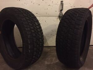 "TWO - 16"" Arctic claw winter tires"