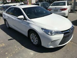 2017 Toyota Camry AVV50R MY16 Altise Hybrid White Continuous Variable Sedan Rockdale Rockdale Area Preview