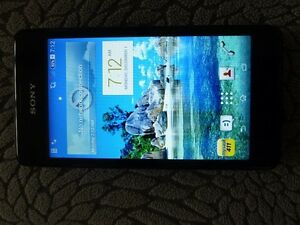 Sony Xperia cell phone