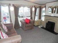 🌟🌟BARGAIN DG & CH LUXURY MODERN CARAVAN AT NORTHUMBERLANDS HIDDEN SECRET CRESSWELL TOWERS🌟🌟