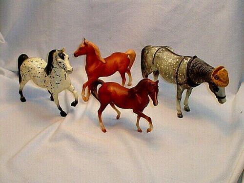FOUR BREYER HORSES*