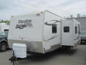 DISCOVERY TRAIL 30BHS TRAVEL TRAILER WITH BUNKS $82 BIWEEKLY