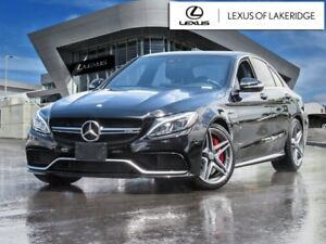 2015 Mercedes-Benz C-Class AMG C 63 S, No Accidents, One Owner