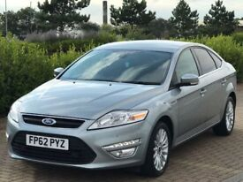 FORD MONDEO 2.0 ZETEC BUSINESS EDITION TDCI 5d 138 BHP (silver) 2013