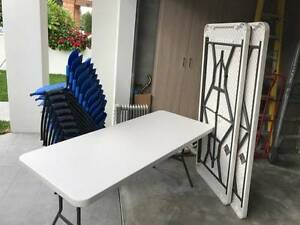 Party chairs and tables to serve 20 people! Kogarah Rockdale Area Preview