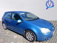 VOLKSWAGEN GOLF 2.0 GT TDI 5dr (blue) 2005