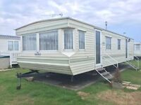 CHEAP STATIC CARAVAN FOR SALE QUICK SALE WANTED FIRST TO SEE WILL BUY nt WHITLEY BAY , SANDY BAY