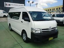 2011 Toyota Hiace TRH223R MY11 Upgrade Commuter White 4 Speed Automatic Bus Canada Bay Canada Bay Area Preview