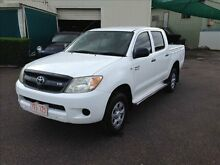 2007 Toyota Hilux GGN25R 07 Upgrade SR (4x4) White 5 Speed Manual Berrimah Darwin City Preview