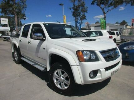 2010 Holden Colorado RC MY10 LT-R White 5 Speed Manual 4D UTILITY