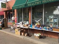 GARAGE SALE at Carbon Environmental Boutique