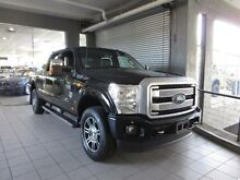 2016 Ford F250 SUPERDUTY LARIAT Platinum Edition Shadow Black  Utility Thornleigh Hornsby Area Preview