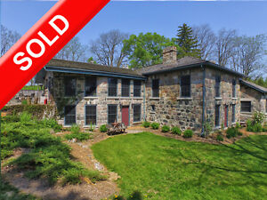 SOLD: 1 of a kind Stone Home Estate with over 165 yrs of history