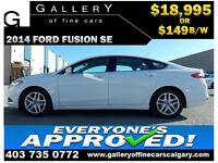 2014 Ford Fusion SE $149 bi-weekly APPLY NOW DRIVE NOW