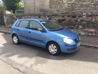 Volkswagen Polo, 1.2, 5 door, 07 plate, low mileage 64k, immaculate condition, £2650 call Edinburgh